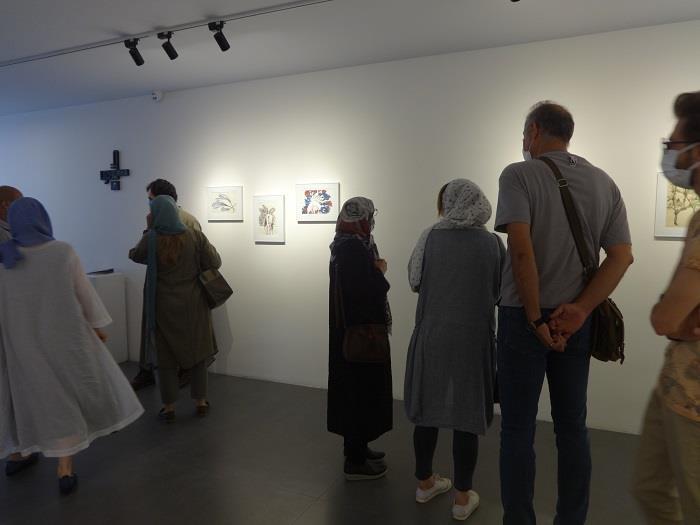 گالری+نیان+دو+نمایشگاه