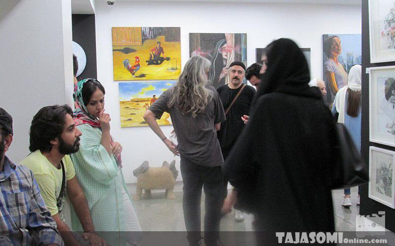 نمایشگاه-11-میلیون-در-گالری-ثالث