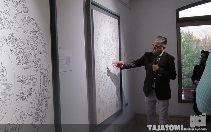 گزارش-تصویری-نمایشگاه-آثار-نقاشی-امیرشهاب-رضویان-در-گالری-کاما