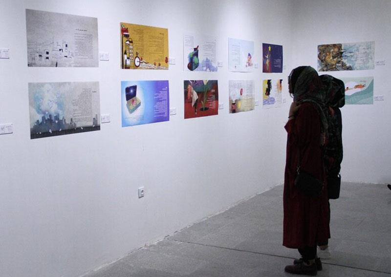 نمایشگاه-آثار-نگارگران-انجمن-هنرهای-تجسمی-خوزستان-برپا-شد