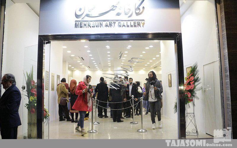 گزارش-تصویری-افتتاح-نگارخانه-مهرسان