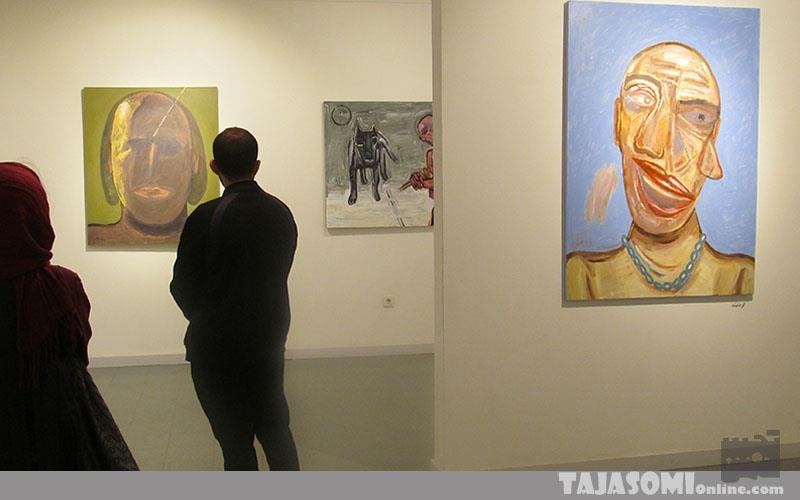 گزارش-تصویری-نمایشگاه-نقاشی-فرشید-ملکی