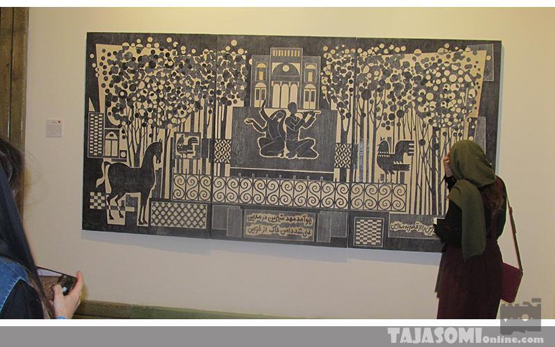 گزارش-تصویری-نمایشگاه-نقاشی-ایرج-اسکندری