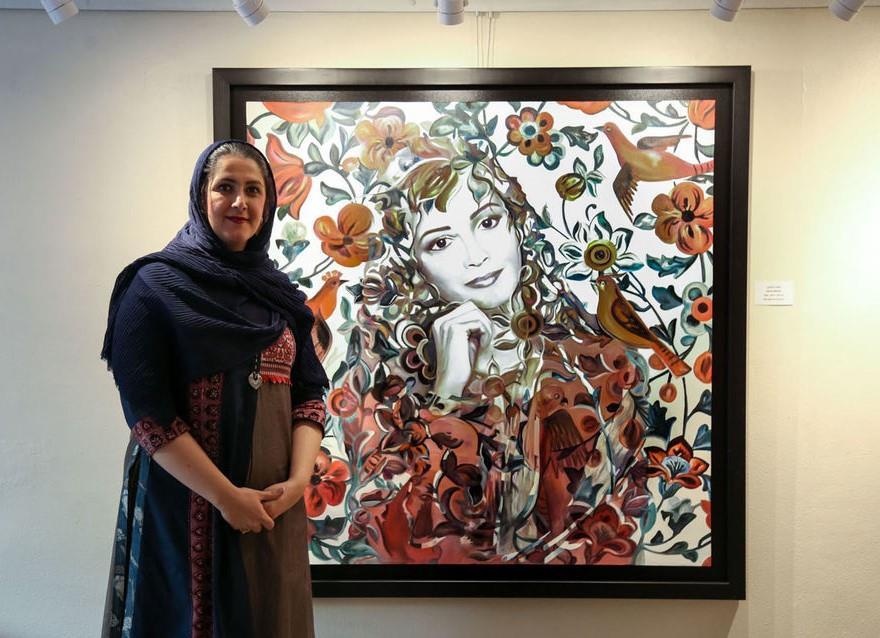 تارا-بهبهانی،-ژن-خوب-نقاشی-ایران