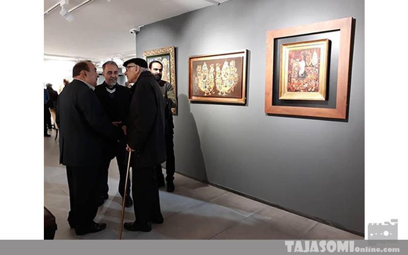 """نمایشگاه """"صورتگرعشاق"""" از رقم صادق تا عمل تبریزی / گزارش تصویری"""