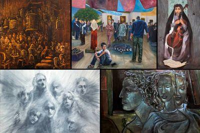 برگزاری-نمایشگاه-گروهی-نقاشی-و-مجسمه-