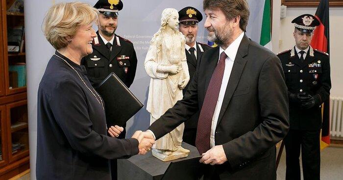 بازگشت-مجسمه-«مریم-مجدلیه»-به-آلمان