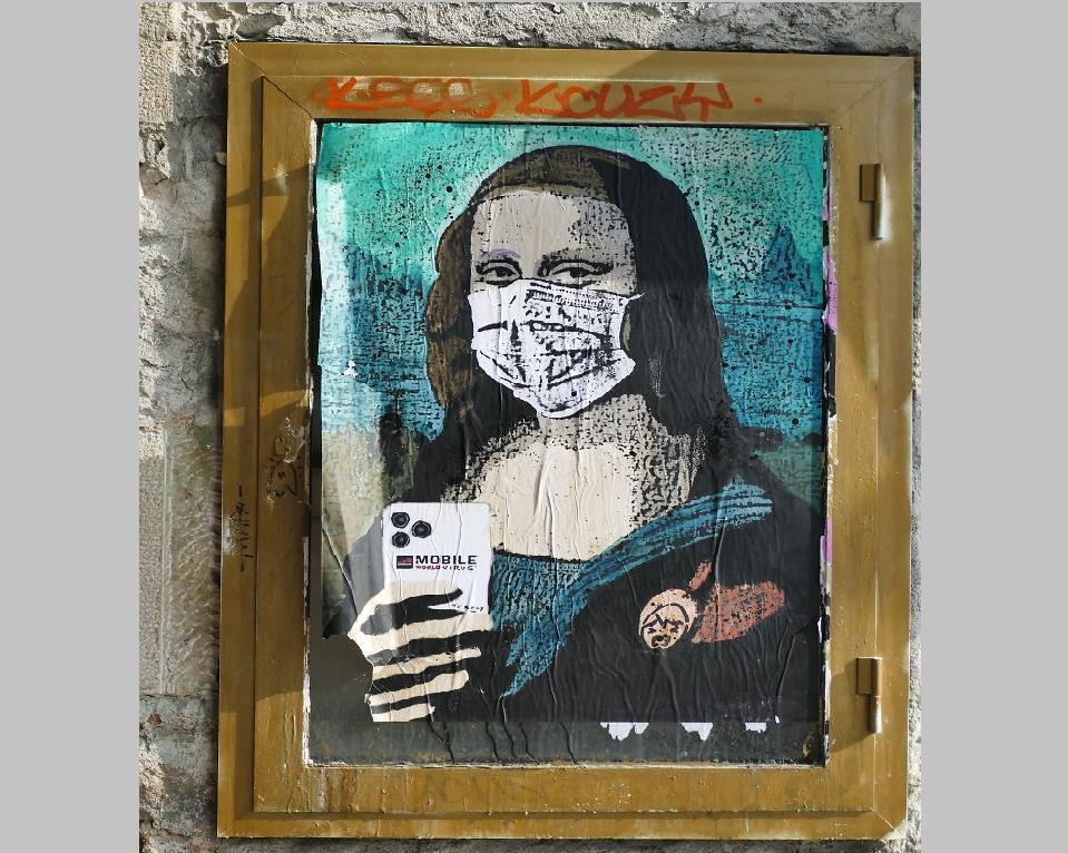 گرافیتی-های-کرونایی-بر-دیوارهای-جهان
