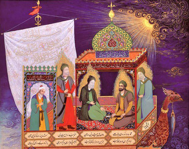 نمایشگاه-مجازی-از-آثار-نگارگری-شاهنامه-فرهنگستان-هنر