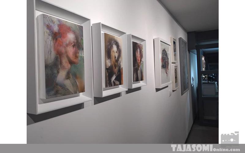 نگاهی به نمایشگاه تنشن در گالری سهراب