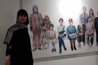 برپایی-نمایشگاه-آثار-الینا-زوار-با-عنوان-