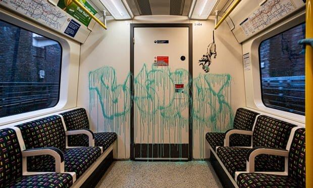 اثر-جدید-«بنکسی»-از-مترو-لندن-سر-درآورد