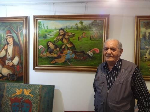 گفت-و-گو-با-جواد-عقیلی-تنها-بازمانده-نسل-طلایی-نقاشان-قهوهخانه-ای