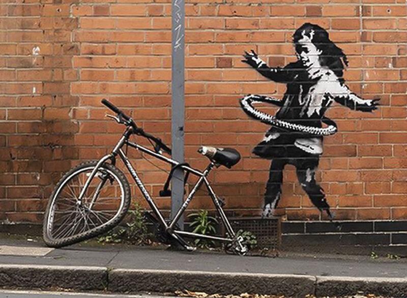 بنکسی-مسئولیت-نقاشی-دیواری-ناتینگهام-را-بر-عهده-گرفت
