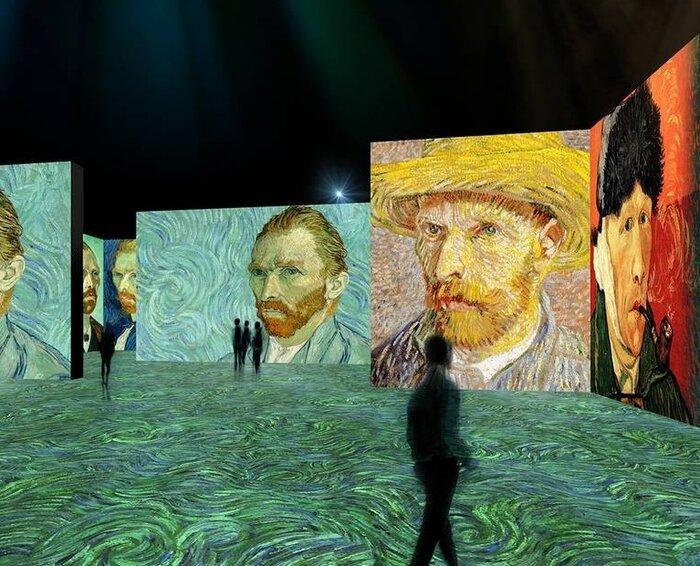 برگزاری-نمایشگاهی-از-آثار-سهبعدی-و-متحرک-«ونگوگ»