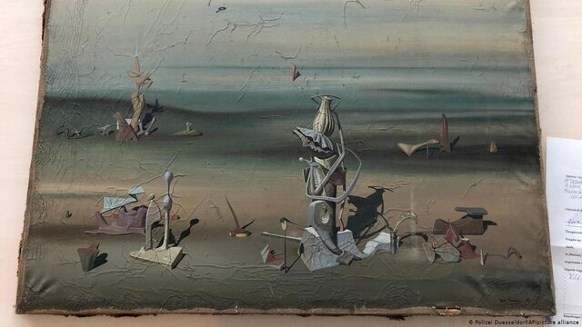 پیدا-شدن-نقاشی-۲۸۰-هزار-یورویی-در-سطل-زباله