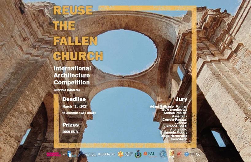 فراخوان-مسابقه-بین-المللی-معماری-بازسازی-کلیسا-Grottole-Matera-منتشر-شد