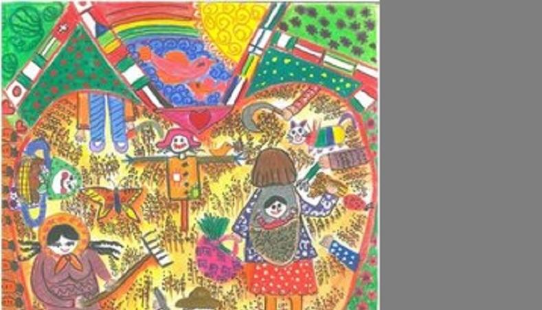 یک-کودک-همدانی-برای-دومین-سال-پیاپی-برنده-جایزه-نقاشی-فائو-شد
