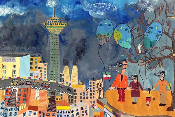 درخشش-پنج-کودک-ایرانی-در-مسابقه-نقاشی-«کائو»-ژاپن