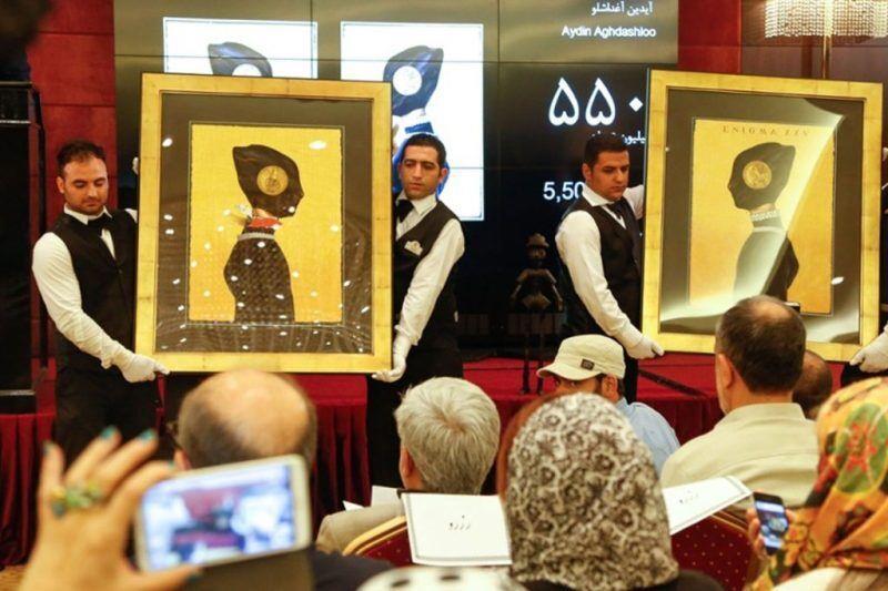 آیدین-آغداشلو-با-12-میلیارد-تومان-در-حراج-سیزدهم-رکورد-شکنی-کرد