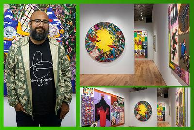 نمایشگاه-امیرحسین-فلاح-در-نیویورک