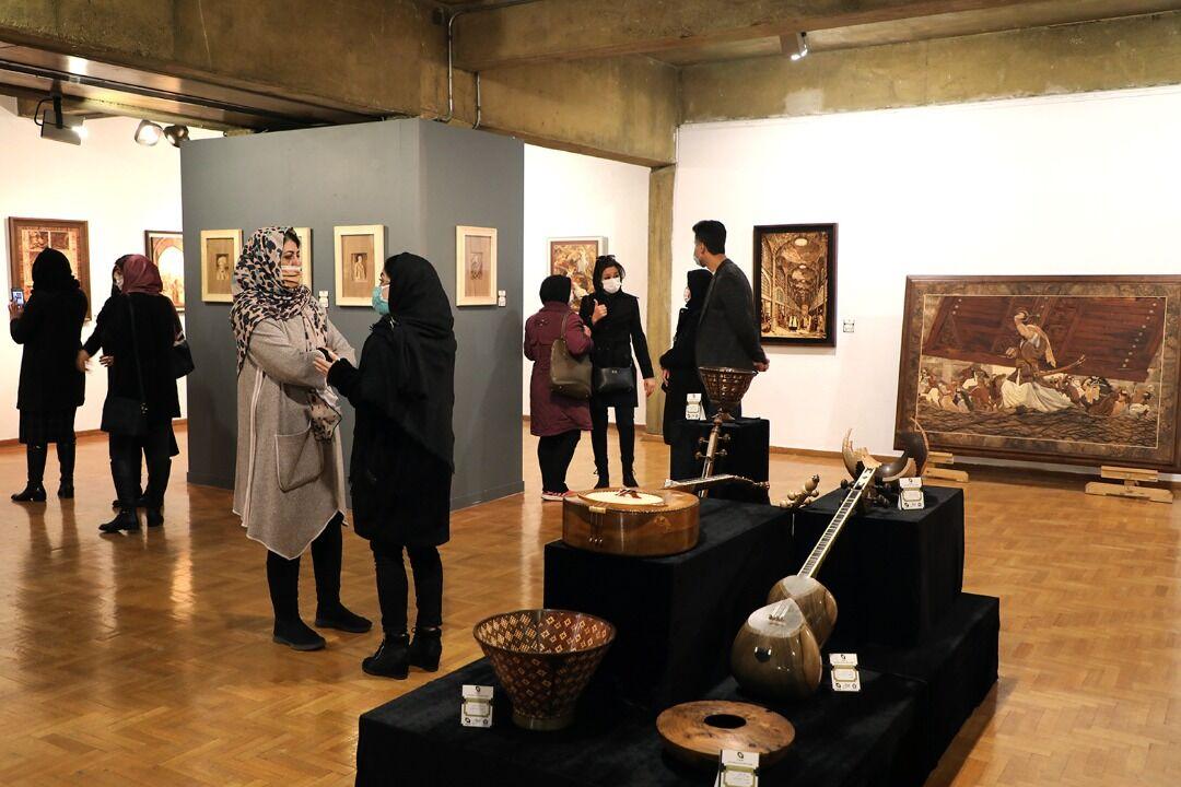گشایش-دوازدهمین-نمایشگاه-نگارههای-چوبی-(هیما)