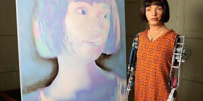 نخستین-نمایشگاه-«ایدا»؛-اولین-ربات-هنرمند-جهان-برگزار-می-شود