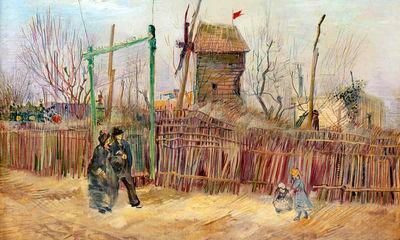 نقاشی-ونگوگ-از-چشماندازهای-پاریس-پس-از-۱۳۴-سال-روی-دیوار-میرود