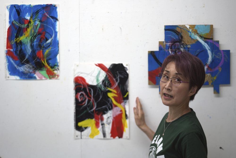 اعتراض-به-برگزاری-المپیک-توکیو؛-این-بار-با-زبان-هنر